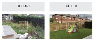 Before after fencing