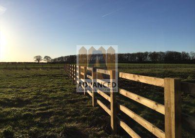 Post & Rail Fence